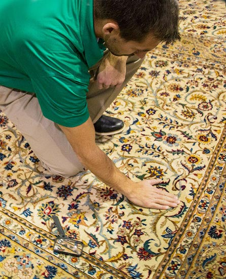 Professional Area and Oriental Rug Cleaning by Chem-Dry of Napa Valley in Napa CA