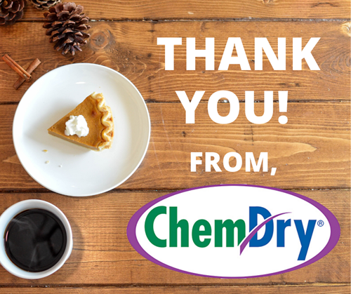 thank you from Chem-Dry of Napa Valley image in Napa CA